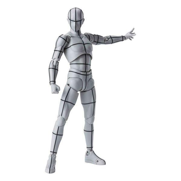 SH Figuarts Body Kun Wireframe Gray Color Version