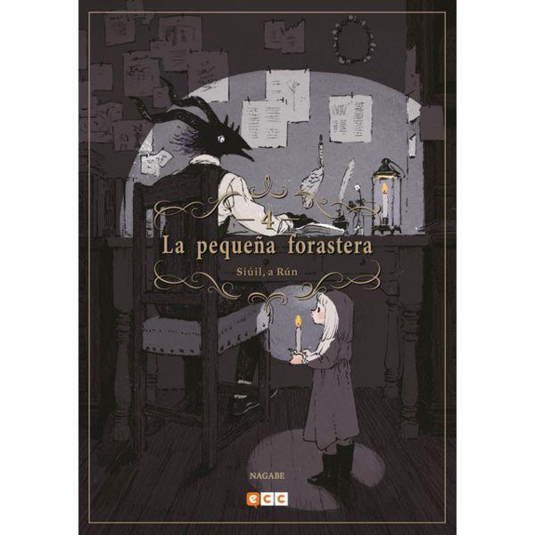La pequeña forastera #04 (Spanish) Manga Oficial ECC Ediciones