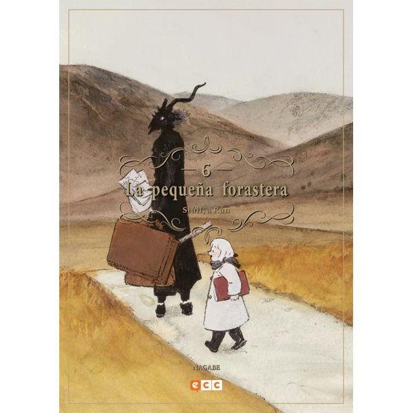 La pequeña forastera #06 Manga Oficial ECC Ediciones