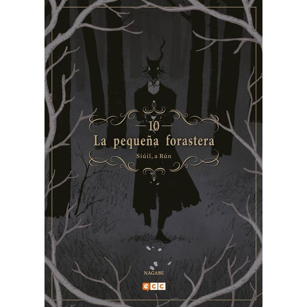La pequeña forastera #10 Manga Oficial ECC Ediciones (Spanish)