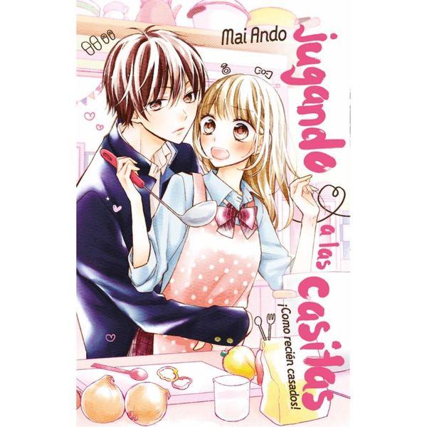 Jugando a las casitas  Manga Oficial Fandogamia Editorial