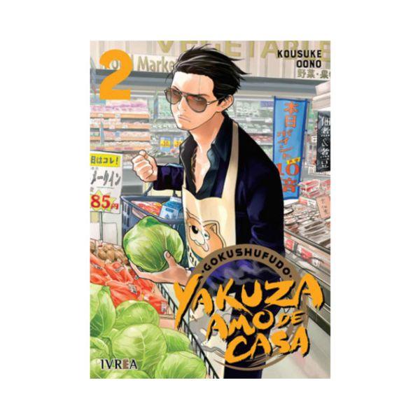 Gokushufudo: Yakuza Amo De Casa #02 Manga Oficial Ivrea
