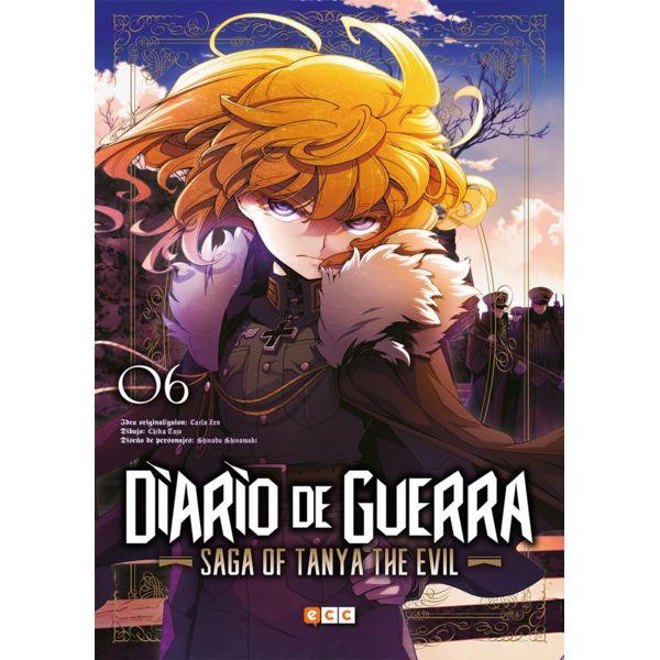 Diario de Guerra Saga of Tanya the Evil #06 Manga Oficial ECC Ediciones