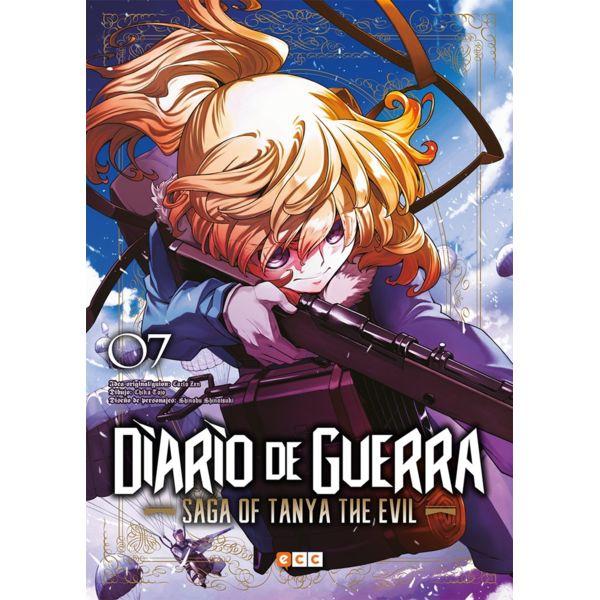 Diario de Guerra Saga of Tanya the Evil #07 (Spanish) Manga Oficial ECC Ediciones