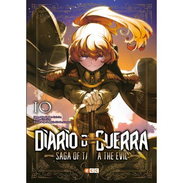 Diario de Guerra Saga of Tanya the Evil #10 (Spanish) Manga Oficial ECC Ediciones