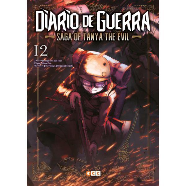 Diario de Guerra Saga of Tanya the Evil #12 Manga Oficial ECC Ediciones