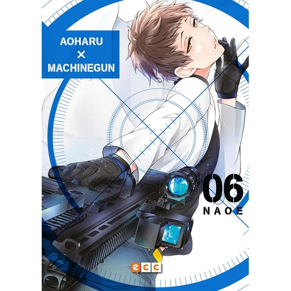 Aoharu Machinegun #06 Manga Oficial ECC Ediciones