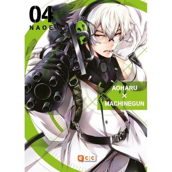 Aoharu Machinegun #04 Manga Oficial ECC Ediciones