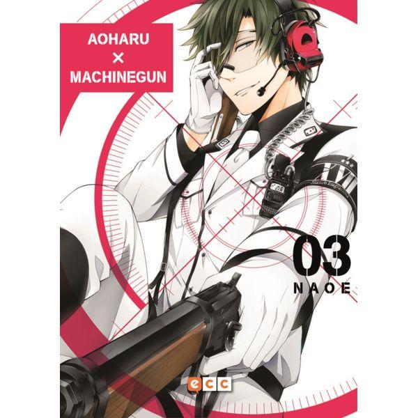 Aoharu Machinegun #03 Manga Oficial ECC Ediciones