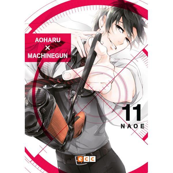 Aoharu Machinegun #11 (spanish) Manga Oficial ECC Ediciones