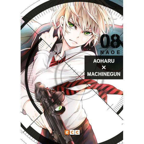 Aoharu Machinegun #08 Manga Oficial ECC Ediciones