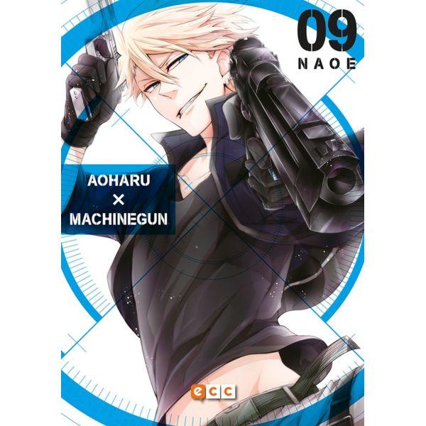 Aoharu Machinegun #09 Manga Oficial ECC Ediciones