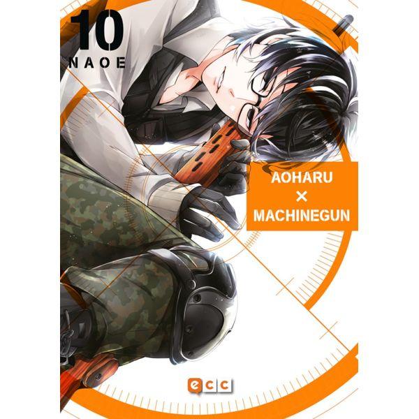 Aoharu Machinegun #10 Manga Oficial ECC Ediciones