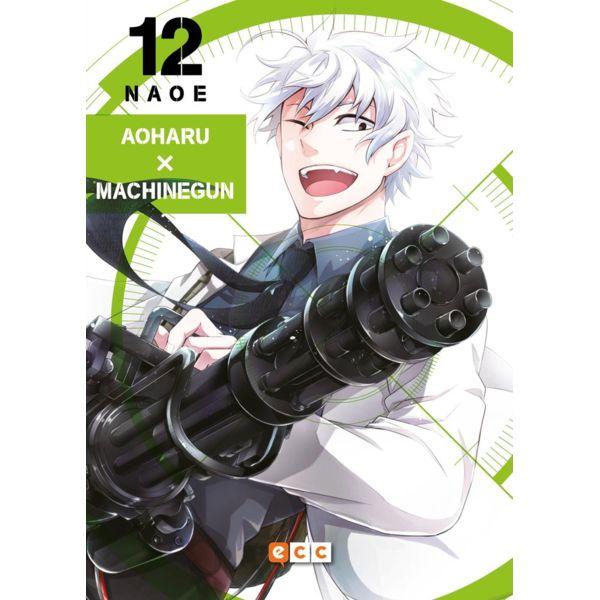 Aoharu X Machinegun #12 Manga Oficial ECC Ediciones