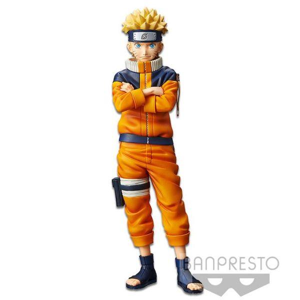 Naruto Uzumaki #2 Figure Naruto Shinobi Relations Grandista