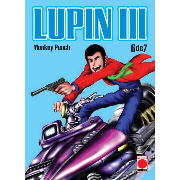 Lupin III #06 Manga Oficial Panini Manga