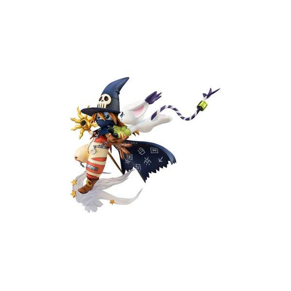 Figura Wizardmon & Tailmon Digimon Adventure G.E.M.