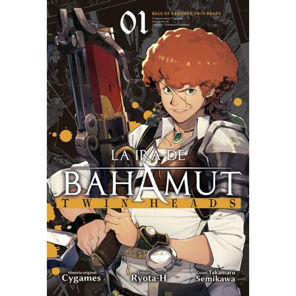 La Ira De Bahamut: Twin Heads #01 Manga Oficial Ediciones Babylon