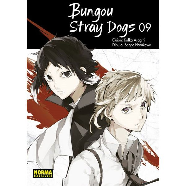 Bungou Stray Dogs #09 Manga Oficial Norma Editorial