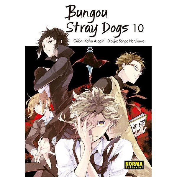 Bungou Stray Dogs #10 (Spanish) Manga Oficial Norma Editorial