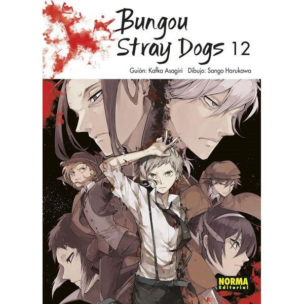 Bungou Stray Dogs #12 Manga Oficial Norma Editorial
