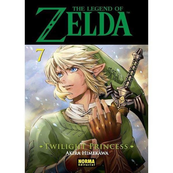 The Legend of Zelda  Twilight Princess #07 (spanish) Manga Oficial Norma Editorial