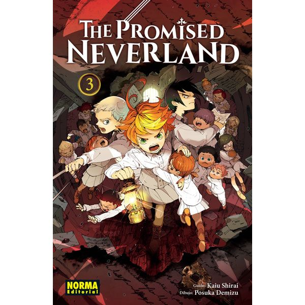 The Promised Neverland #03 Manga Oficial Norma Editorial