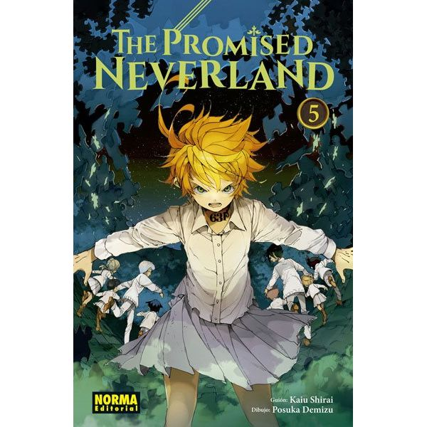 The Promised Neverland #05 Manga Oficial Norma Editorial