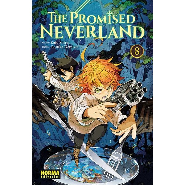 The Promised Neverland #08 Manga Oficial Norma Editorial