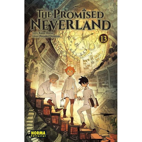 The Promised Neverland #13 (spanish) Manga Oficial Norma Editorial