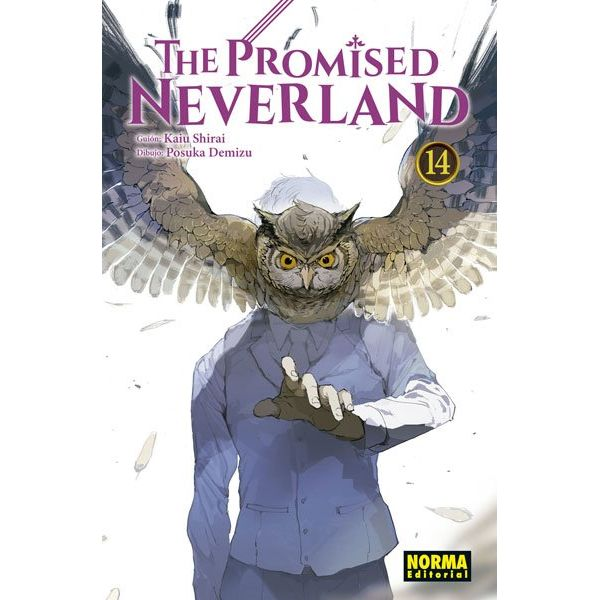 The Promised Neverland #14 Manga Oficial Norma Editorial