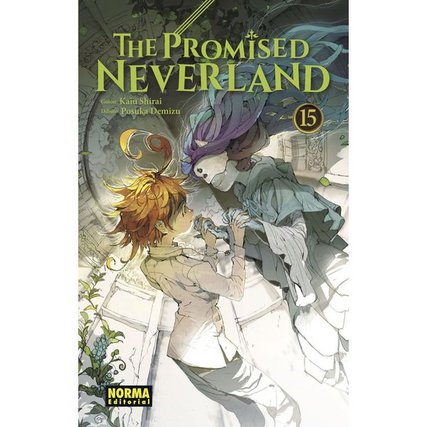 The Promised Neverland #15 Manga Oficial Norma Editorial