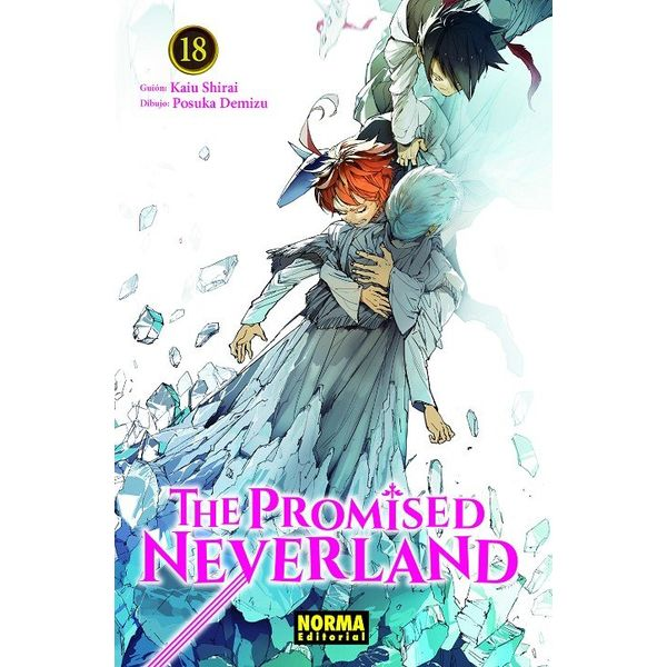 The Promised Neverland #18 (spanish) Manga Oficial Norma Editorial
