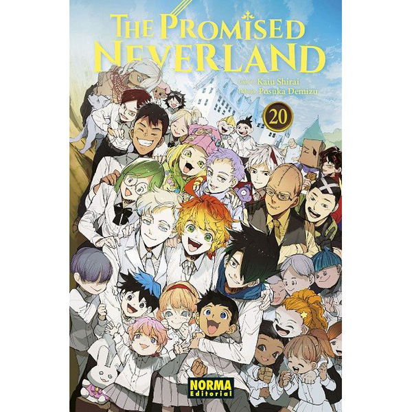 The Promised Neverland 20 Manga Oficial Norma Editorial (Spanish)