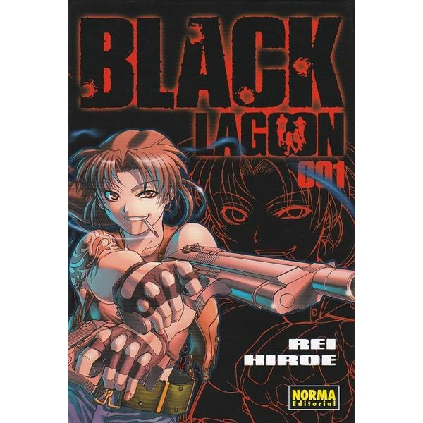 Black Lagoon #01 Manga Oficial Norma Editorial