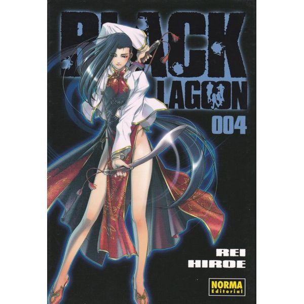 Black Lagoon #04 Manga Oficial Norma Editorial
