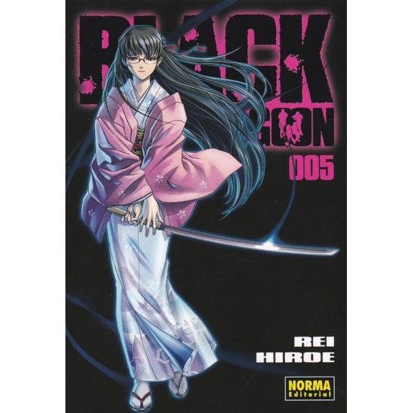 Black Lagoon #05 Manga Oficial Norma Editorial