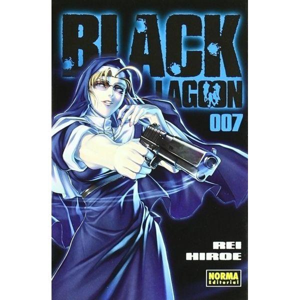 Black Lagoon #07 Manga Oficial Norma Editorial