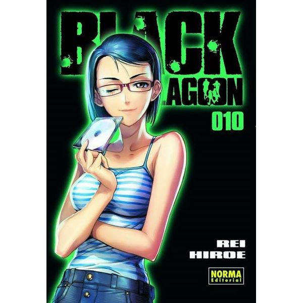 Black Lagoon #10 Manga Oficial Norma Editorial