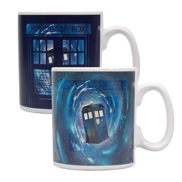 Taza térmica Time Lord Doctor Who