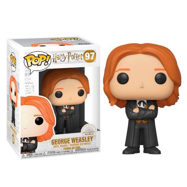 George Weasley Yule Funko Harry Potter POP!