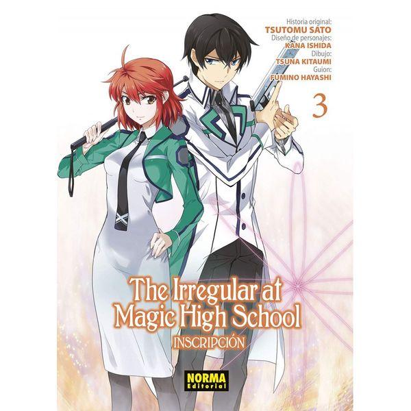 The Irregular At Magic High School #03 Manga Oficial Norma Editorial