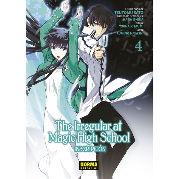 The Irregular At Magic High School #04 Manga Oficial Norma Editorial
