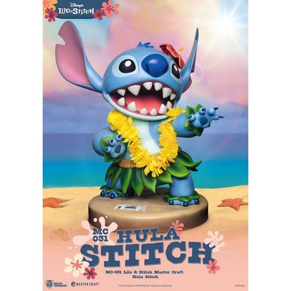 Estatua Hula Stitch Disney Master Craft