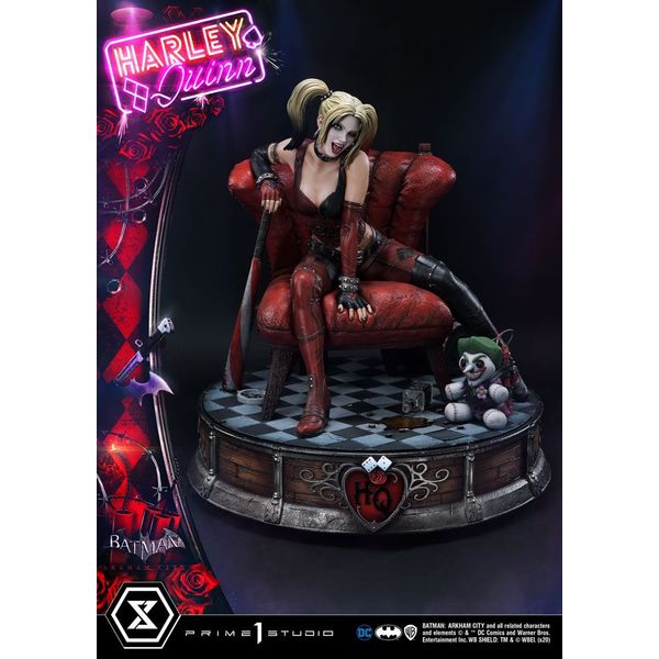 Estatua Harley Quinn Batman Arkham City Museum Masterline