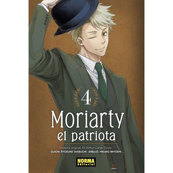 Moriarty el Patriota #04 Manga Oficial Norma Editorial (Spanish)