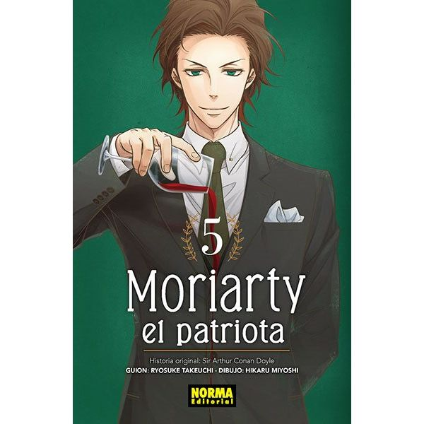 Moriarty el Patriota #05 Manga Oficial Norma Editorial