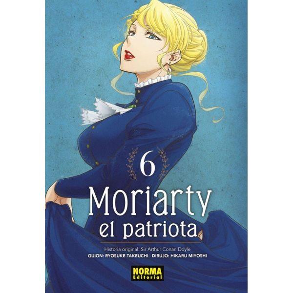 Moriarty el Patriota #06 Manga Oficial Norma Editorial (Spanish)