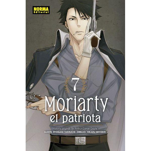 Moriarty el Patriota #07 Manga Oficial Norma Editorial