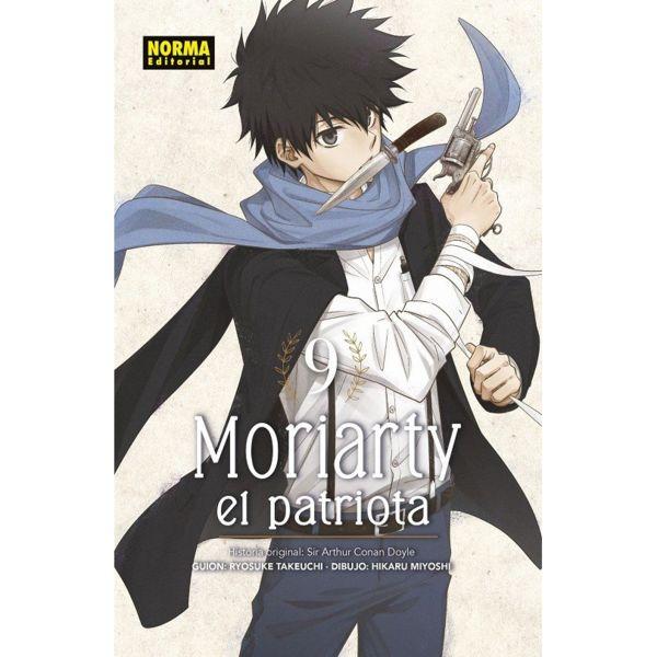 Moriarty el Patriota #09 Manga Oficial Norma Editorial